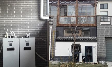 滨州别墅空气能采暖项目