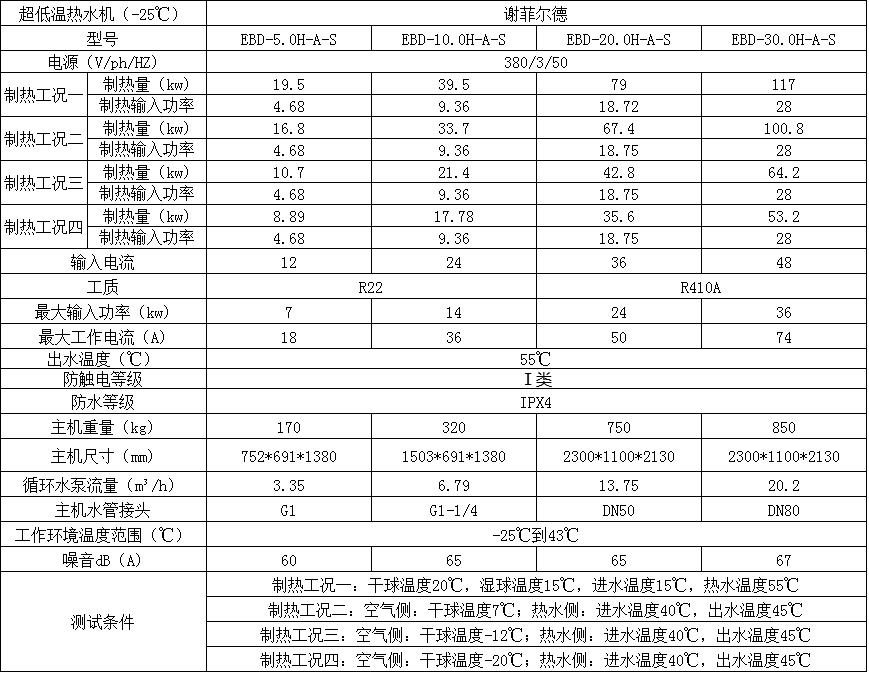 超低温商用lehu66.vip乐虎国际能热水机